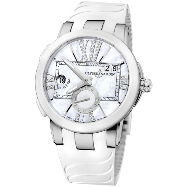 Ulysse Nardin Executive Dual Time Ladies 243-10-3/391