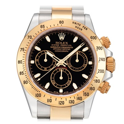 Rolex Daytona Cosmograph 40mm Steel and Yellow Gold Ref 116523