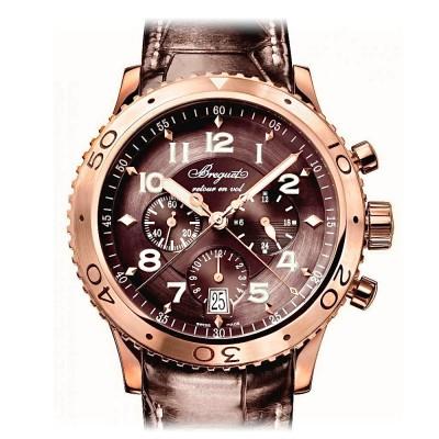 Breguet Type XXI Flyback Rose Gold 3810BR/92/9ZU