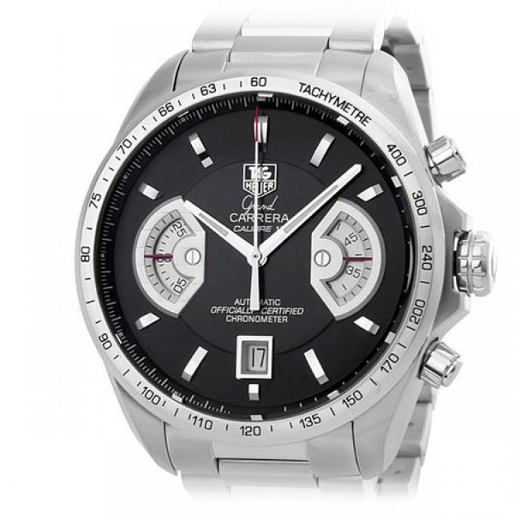 TAG Heuer Grand Carrera Calibre 17 RS  Automatic Chronograph 43 mm CAV511A.BA0902