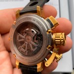 U-BOAT SIDEVIEW 46MM CHRONO GOLD - LIMITED EDITION OF 88 TIMEPIECES Ref.7225