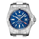 Breitling Avenger II GMT 43 Blue Dial Reference A32390111C1A1
