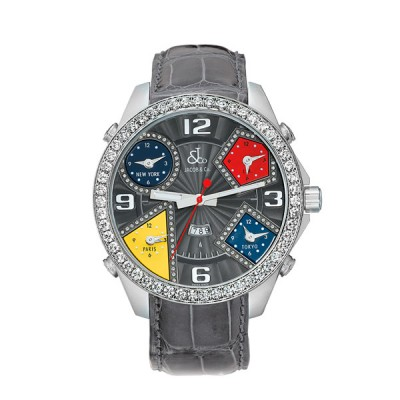 Jacob & Co Five Time Zone Diamond GMT A1459