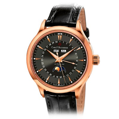 Carl F. Bucherer Manero Moonphase 00.10909.03.33.01 Rose Gold 38