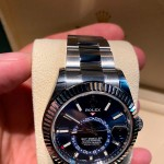 ROLEX SKY-DWELLER 42MM STEEL AND WHITE GOLD 326934-0003