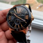Ulysse Nardin Executive Dual Time 43 Rose Gold 246-00-3/42