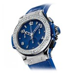Hublot Big Bang 41 Dark Blue Diamond 341.SL.5190.LR.1104