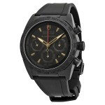 TUDOR FASTRIDER BLACK SHIELD 42000CN RUBBER STRAP
