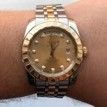 Tudor Steel and Yellow Gold Date & Day M23013-0018