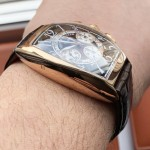 Franck Muller Cintree Curvex Chronograph 8880 CC AT Rose Gold