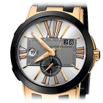 Ulysse Nardin Executive Dual Time Rose Gold 246-00-3/421
