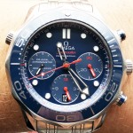Omega Seamaster Diver 300M Co-Axial Chronograph Ceramic Blue 21230425003001