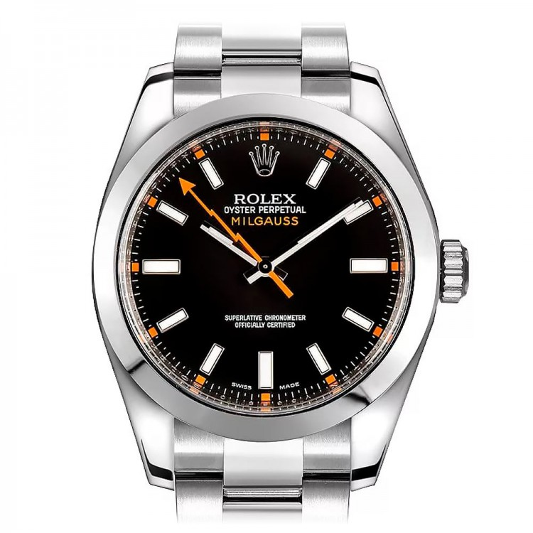 Rolex Milgauss 40mm Steel Black 116400