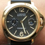 Panerai Luminor Marina Contemporary Carbon Dial 44 Limited Edition PAM 140