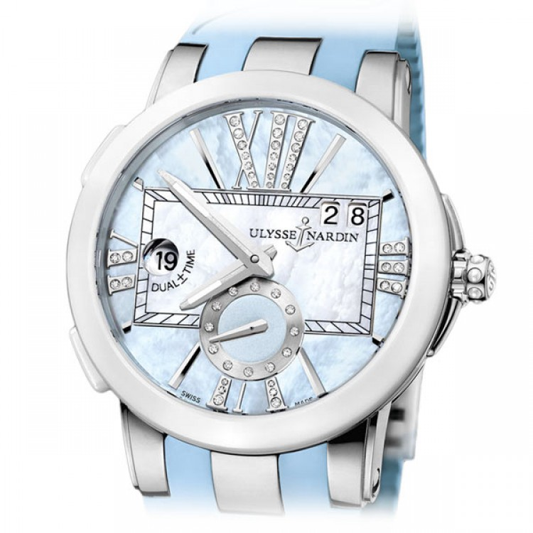 Ulysse Nardin Executive Dual ± Time Lady 243-10-3/393