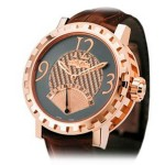 DeWitt Second Retrograde Rose Gold 43 AC.1102.53.M106