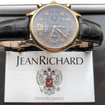 JeanRichard Bressel Chronograph Rose Gold Limited Edition Russia 32112