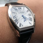 Cartier Tortue XLarge White Gold Date Small Seconds Limited Edition W1556233