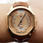 Daniel Roth Academie Metropolitan World Time Rose Gold 857.X.40