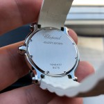 Chopard Happy Sport Round 36mm 3 Diamonds Edition 278475-3014