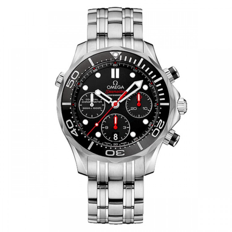 Omega Seamaster Diver 300M Co-Axial Chronograph 44 мм. ETNZ Ceramic 212.30.44.50.01.001