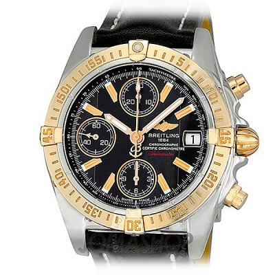 Breitling Chrono Cockpit Steel/Gold B13358
