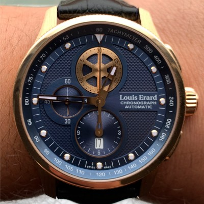 Louis Erard 1931 Rose Gold 44 mm