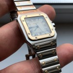 Cartier Santos Steel + Gold 750 1566