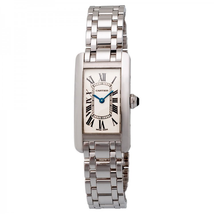 Cartier Tank Americaine 1713 White Gold 750 1713