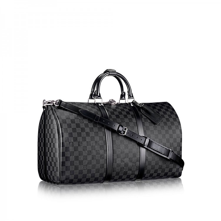 Сумка LOUIS VUITTON Keepall 55 с N41413