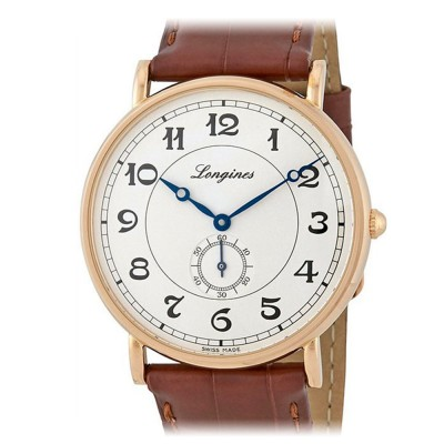 Longines Heritage Rose Gold L4.785.8.73.2