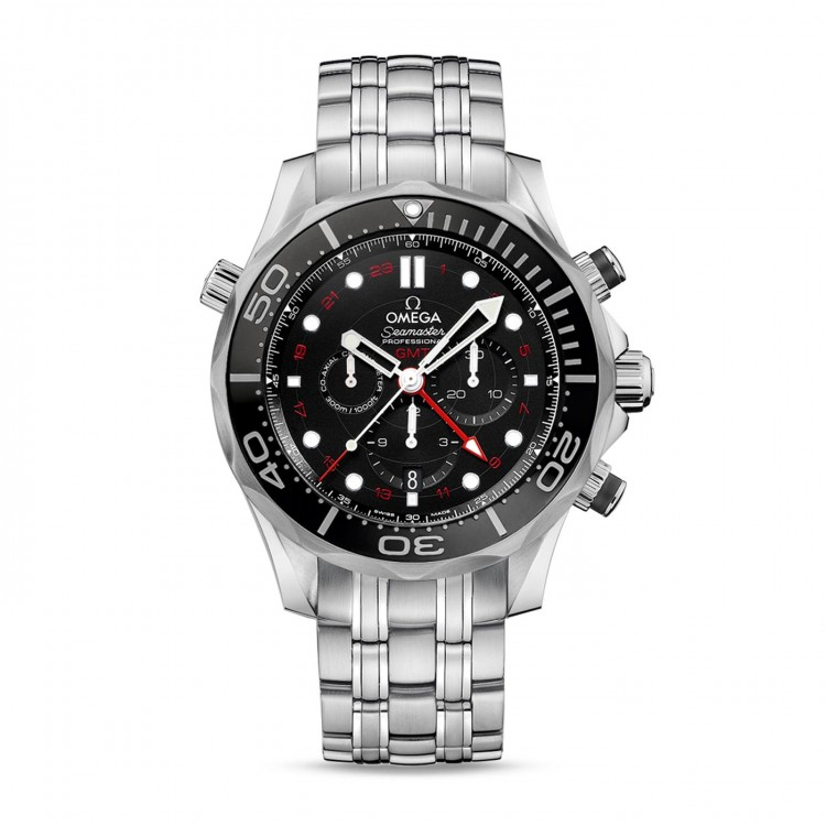 Omega SEAMASTER DIVER 300 M CO-AXIAL GMT CHRONOGRAPH 44 ММ 212.30.44.52.01.001