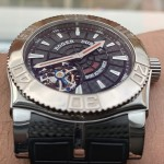 Roger Dubuis Sports Activity Easy Diver Tourbillon Carbon Fiber Dial Limited Edition 280 SE 48 02 9/0K9.53