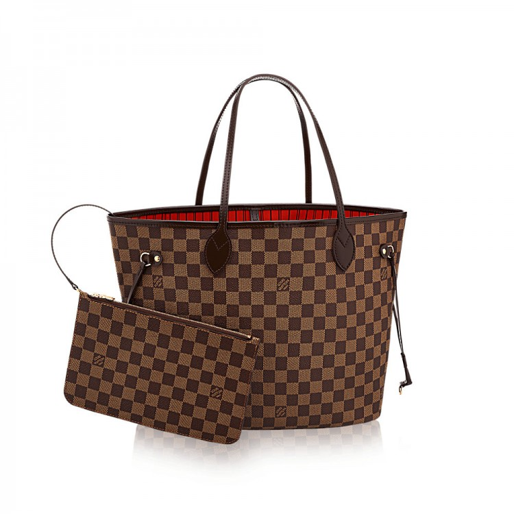 Сумка LOUIS VUITTON Neverfull MM N41358