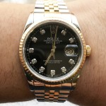 Rolex Datejust 36 Bicolor Diamonds 16233