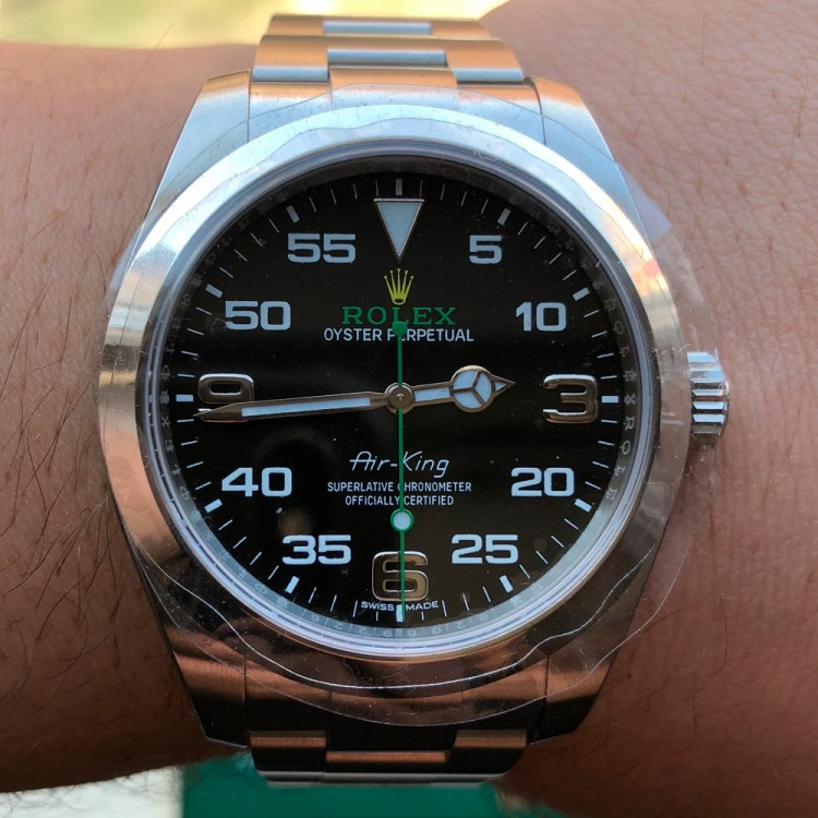 Rolex Oyster Perpetual Air-King M116900