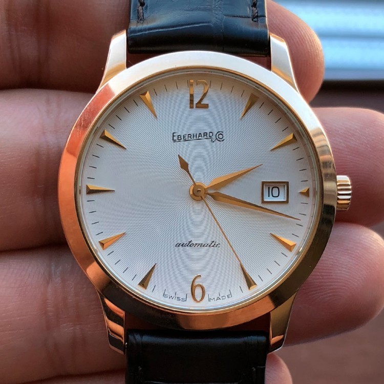 Eberhard & Co. Palazzo Rose Gold 750 40037