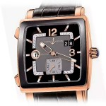 Ulysse Nardin Quadrato Dual Time Rose Gold 246-92CER/692