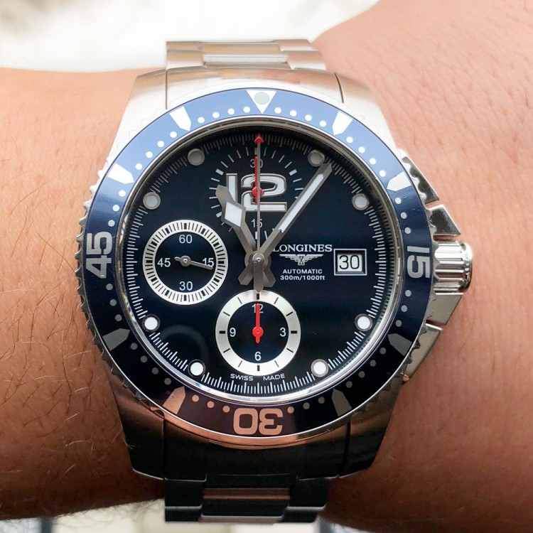 Longines HydroConquest Diver 41mm L3.644.4.96.6