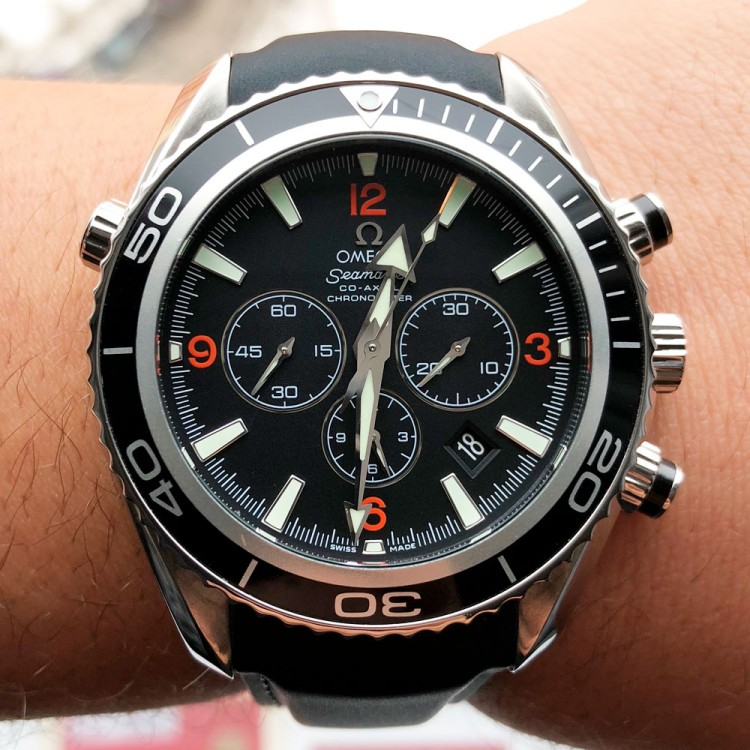 Omega SeaMaster Planet Ocean 600 Co-Axial Chronograph 45.5mm 2910.51.82